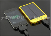 New Colorful 2600mah solar power bank portable battery charger emergency power bank for mobile phone PC mp3/4
