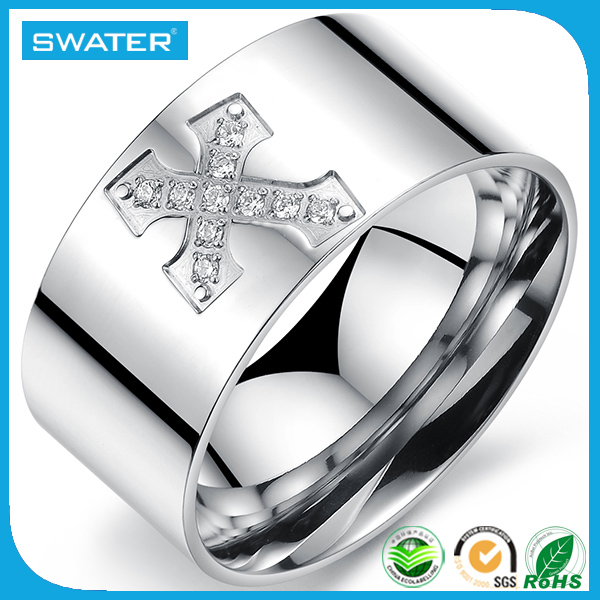 China Alibaba Italian Bulk Sale Stainless Steel Rings Wholesale Jewelry