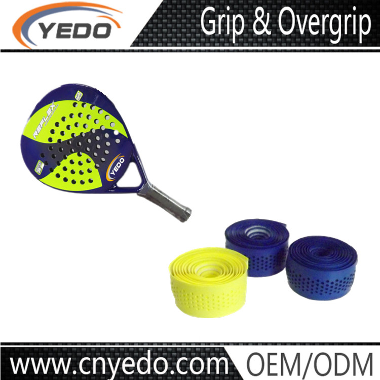 A highly specialized sport bat racket overgrip