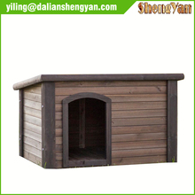 Apex roof popular wooden dog house for sale
