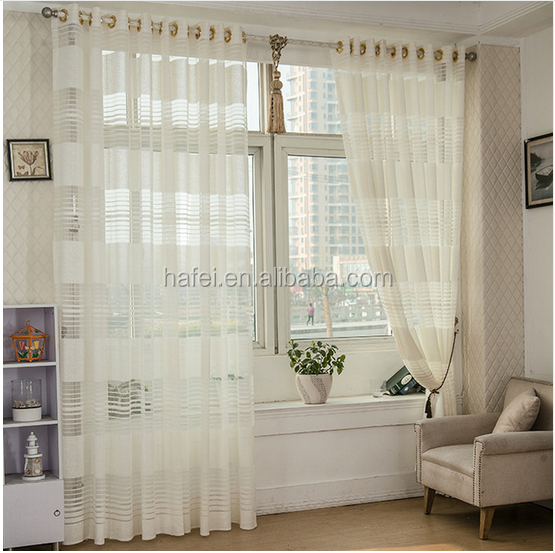 high quality European style hotel room sheer window curtains