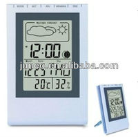 Big LCD display alarm clock, weather station function