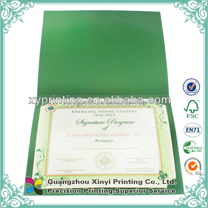 Good Price And High Quality Certificate Printing Paper