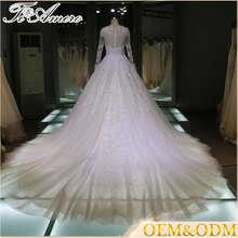 2016 dress manufacture custom made Applique Wedding dress