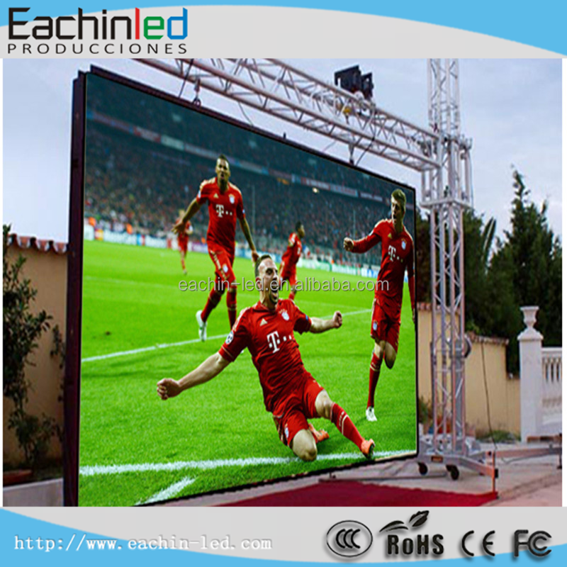 Waterproof IP65 outdoor stage LED commerical panel, LED sports large screens