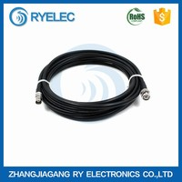 RG series 0-3GHZ tinned/slivered copper 50ohm 50-5 BNC male to bnc female RF cable extension assembly