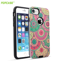 PC+TPU 3D Relievo High Quality Phone Case for IPhone7