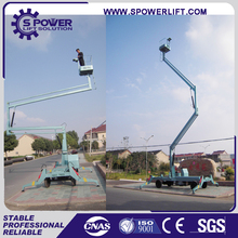 ISO certification hydraulic compact boom lift/small boom lift