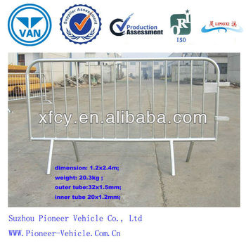 Galvanized Temporary Portable Traffic Fence / Barrier Fence (ISO SGS Approved)