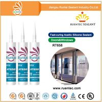 ceiling waterproof weather silicone sealant for glass to concrete