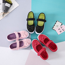 children canvas casual injection shoes