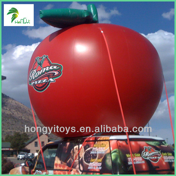 Tomato Inflatable Giant Advertising Balloons/Shape Balloons