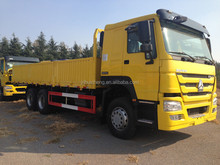 factory supply Sinotruck truck cargo HOWO 6X4 cargo trucks low price sale