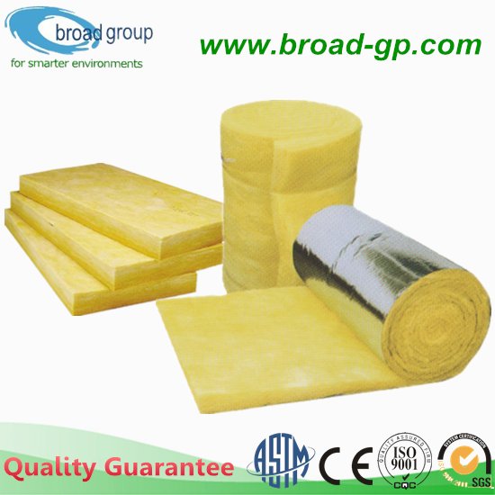 CE Certificate Glass Wool Thermal Insulation for Construction