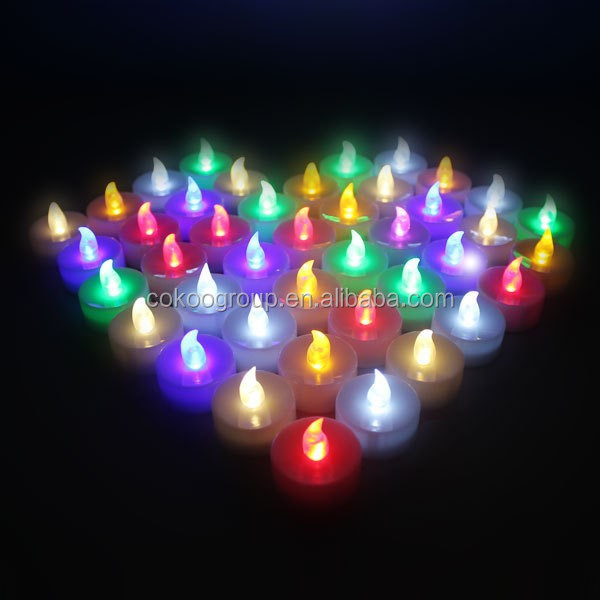 New!T-0254 acoustic control candle lamp artificial candle colorful candle lights new arrival