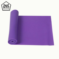 Alibaba Manufacturer Wholesale Custom Fitness Latex Resistance Exercise Band , Resistance Band