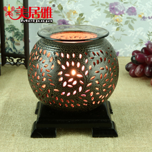 China factory wholesale UL/CE electric dimmer oil burner, ceramic fragrance oil lamp