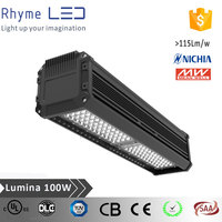 aluminum alloy Driver Inside ip65 ufo 100w led high bay light