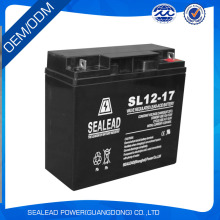10HR rated rechargeable sealed lead acid battery 12v 17ah