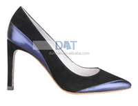 USA fashionable genuine leather ladies high heel