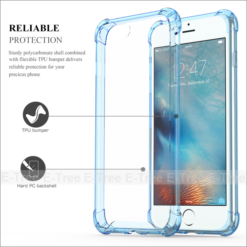 2017 best quality accurate cutout design shockproof ultra thin tpu pc combo case for iphone 7