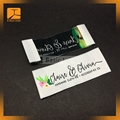 personalized custom made tags name woven sewing labels for clothing