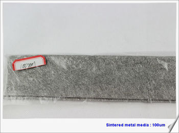 fiber felt for heater element