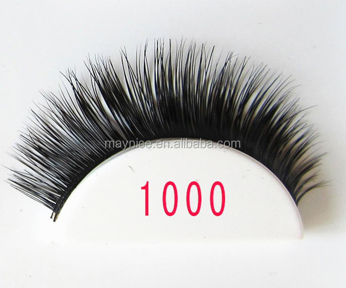 2017 High quality wholesale private label real mink strip eyelashes <strong>1000</strong>