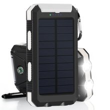 2018 new product powerGreen solar mobile phone charger 10000mAh solar battery power bank