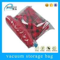 Transparent space saving hand roll Vacuum Travel Bag