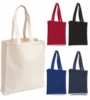 customized canvas fabric shopping bags, 10oz sturdy cotton tote bags
