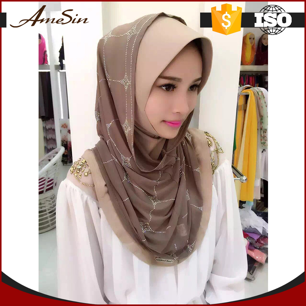 AMESIN buy wholesale direct from china arab hijab muslim square scarf