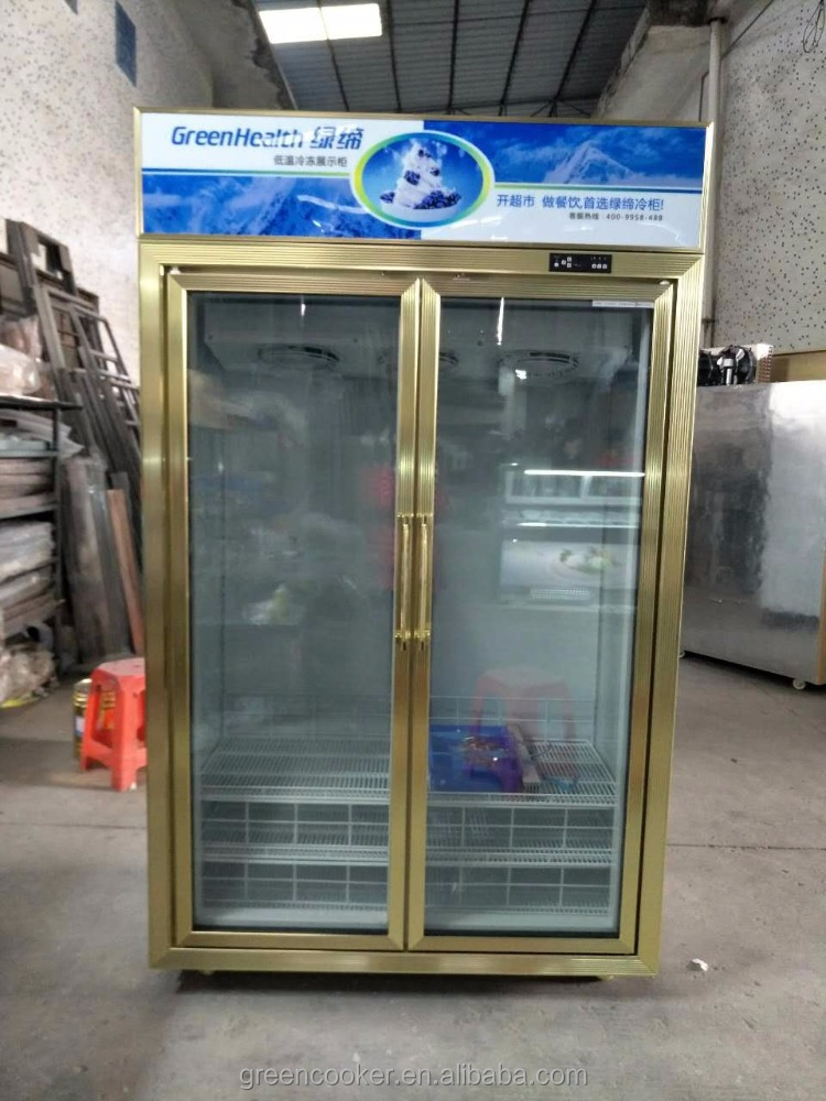 Green&Health Refrigeration Upright double door freezer/refrigerator