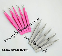 Eyelash Extensions Products Tools Semi Curved Tweezers