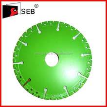 high degree 115mm Vacuum brazed diamond saw blade for cutting marble