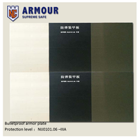 Sintered Silicon Carbide Bulletproof Tile for Body Armor/Vehicle Armor/Aircraft Armor