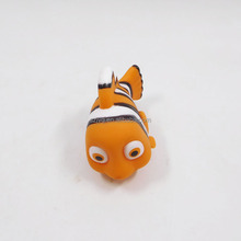 New Arrivals Mini Plastic Fish Toy Inflate Cartoon Small Rubber Fish Toy