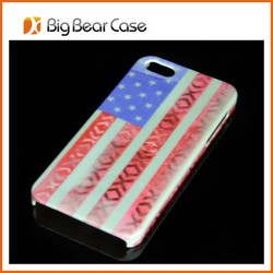 High quality for iphone 5/ 5s us flag phone case
