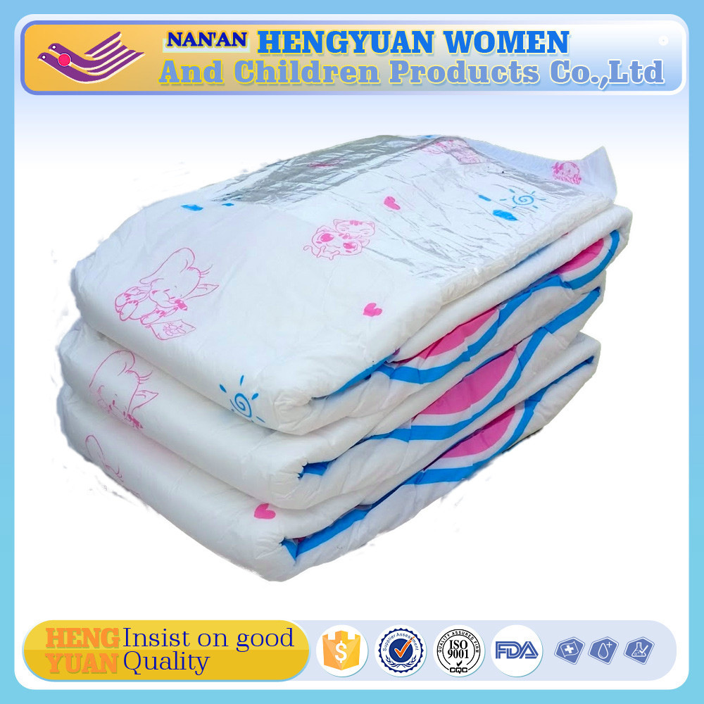 2017 hot selling new design abdl adult baby diaper cute printed adult diaper wholesale factory price
