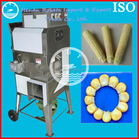 Economy and efficient fresh corn thresher vegetable cutter for sale