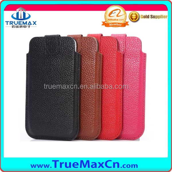 Hot wholesale super thin leather back case for Apple iPhone 6