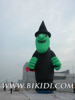PVC inflatable cartoon mascot/inflatable advertising