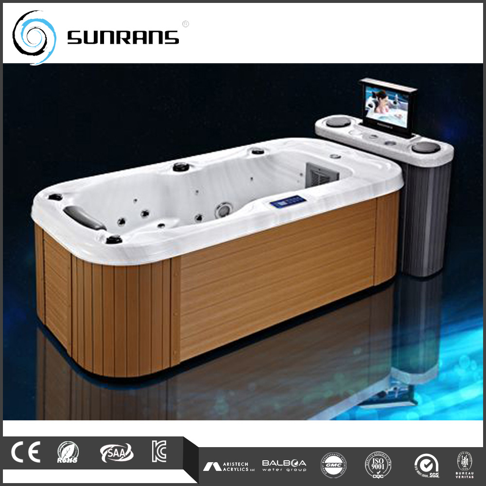 hot sale one person indoor hot tub with dvd buy bathtub bathtub bathtub product on. Black Bedroom Furniture Sets. Home Design Ideas