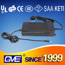 GVE various plug constant voltage 12v 8a ac dc power adapter