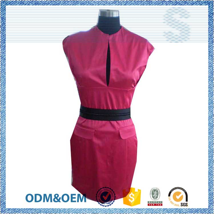 NBZC Welcome OEM ODM wholesale price ladies new model dress,design women dress,front open sexy midi dress