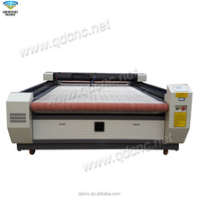 fabric roll laser cutting machine with auto feeding system cloth laser cutter QD-C1620/QD-C1625/QD-C1630