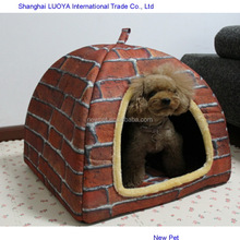 Top quality new arrival outdoor dog house cardboard dog house dog cage pet house