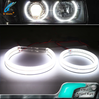 Environmentally friendly and power saving smd halo rings angel eyes for Mitsubishi LANCER X