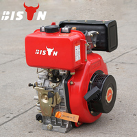 BISON(CHINA) Brand New 6 Hp Small Compact Mini Diesel Engine