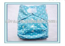 Hot Sale Baby Lovely Printed Hook and Loop Fastener Cloth Diaper Cover